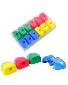 """Чинка з контейнером, пластикова, одинарна, кольорова, """"Simple"""", ООПТ"""