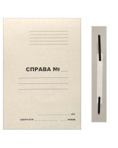 """Папка картонна, А4, 290 мкм, швидкозшивач, з пластиковим притиском, """"Справа"""""""