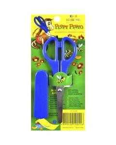Ножиці дитячі, 13 см, лезо - 7 см, з чохлом, на планшеті, Peppy pinto