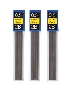 Стрижень для механічних олівців, 2В, 0,5 мм, Economix