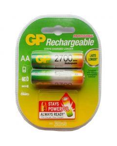 Акумулятор GP AAA R06 2700 mAh 2 шт в упаковці