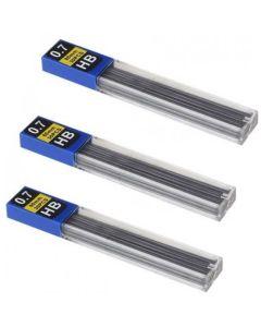 Стрижень для механічних олівців, HВ, 0,7 мм, Economix