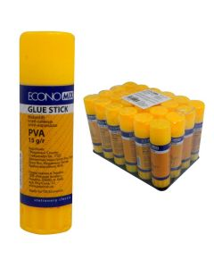 Клей-олівець, 15 г, основа PVA, Economix